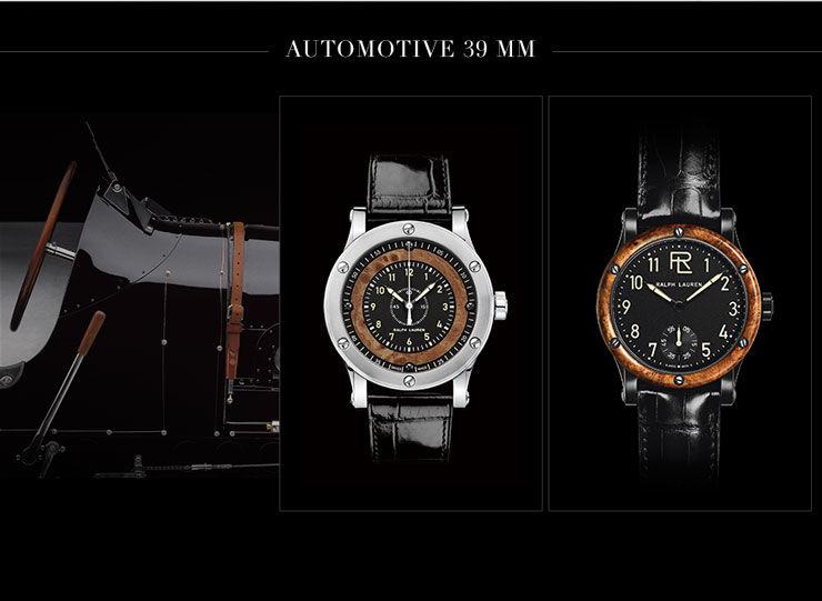 men s automotive collection watch boutique ralphlauren com 39 mm chronometer steel price 4 800 00